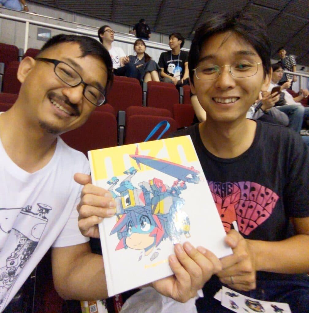 Shinya Mizuno and Richmond Lee